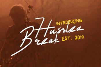 Husslee Break Free Font