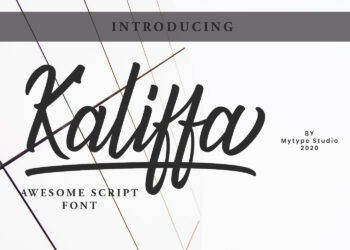 Kaliffa Free Font