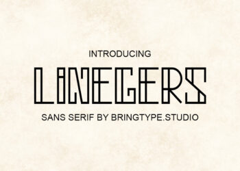 Linegers Free Font