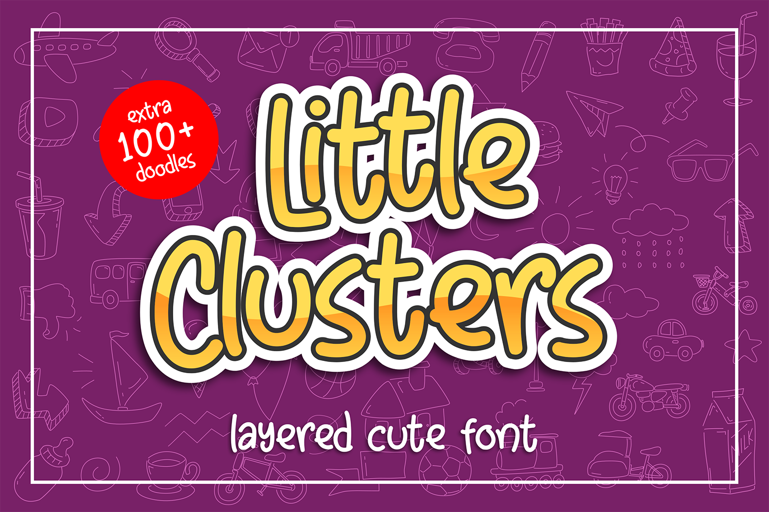 Little Clusters Free Font