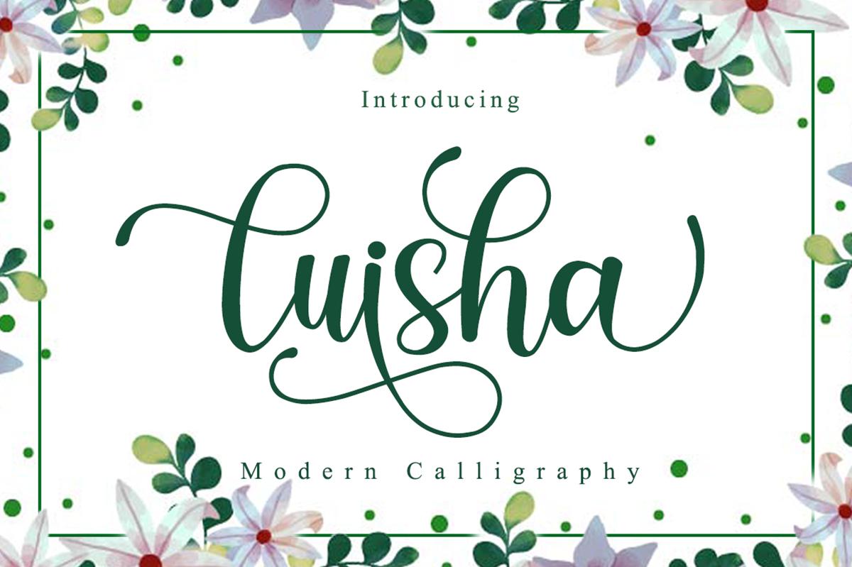 Luisha Free Font