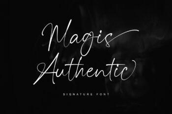 Magis Authentic Free Font