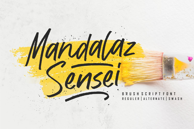 Mandalaz Sensei Free Font