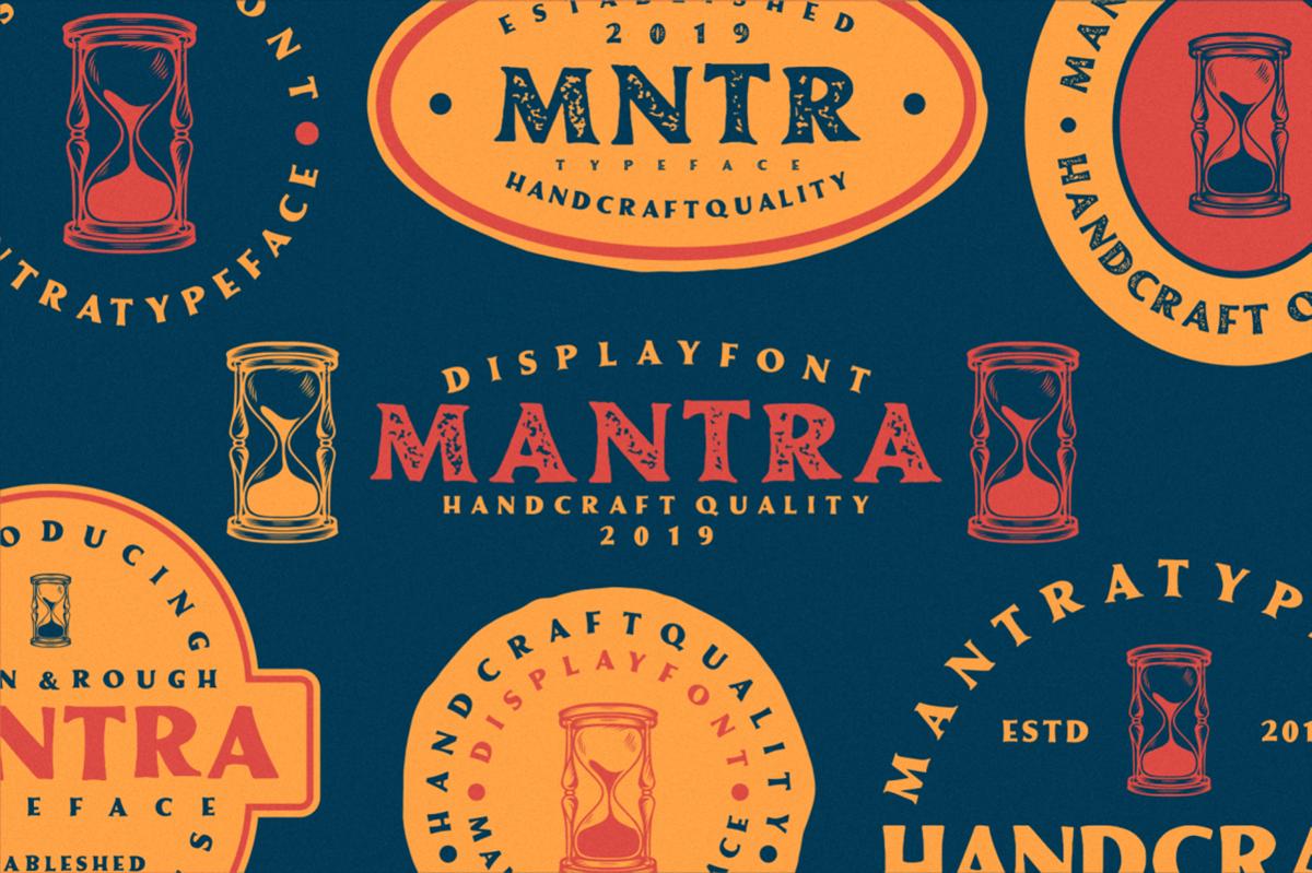 Mantra Free Font