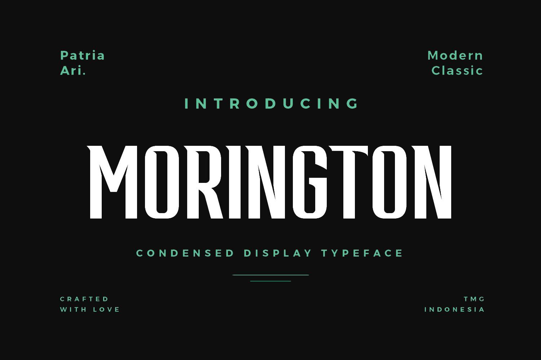 Morington Free Font