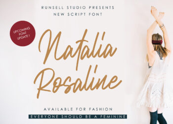 Natalia Rosaline Free Font