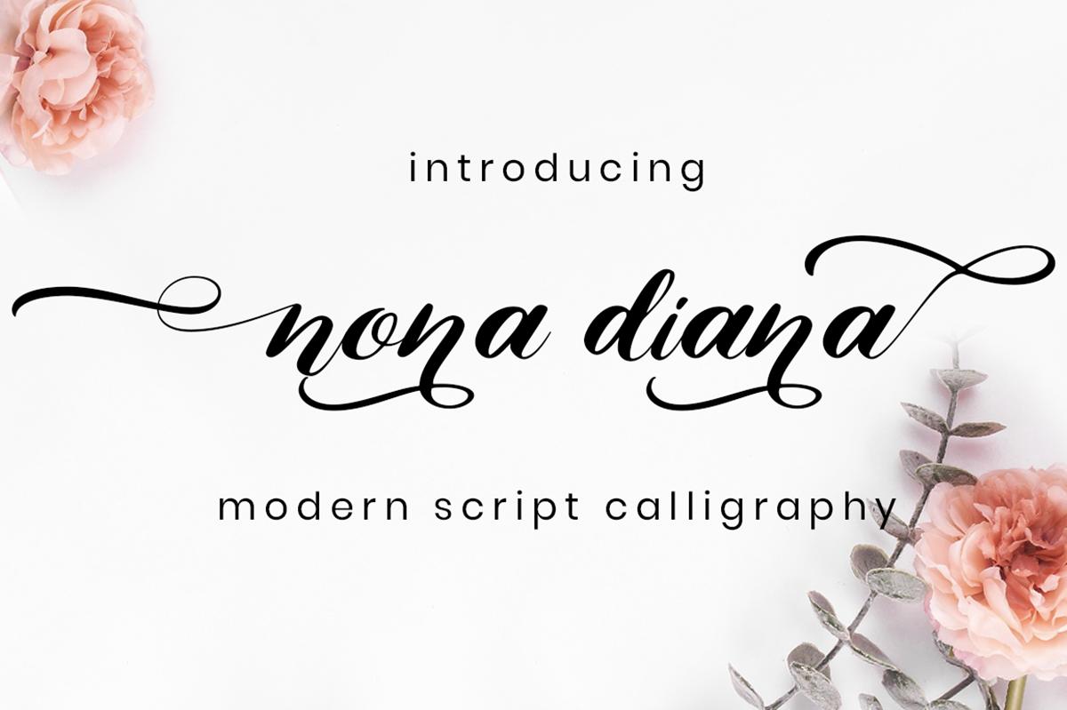 Nona Diana Free Font