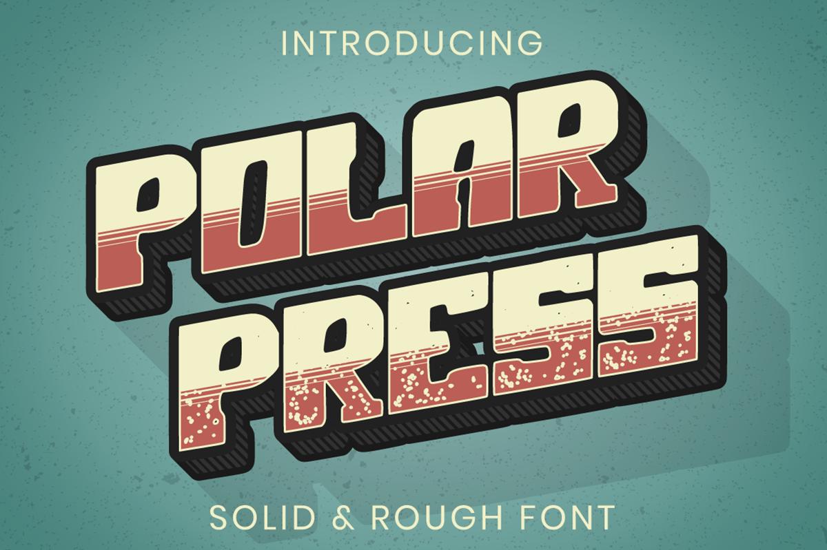 Polar Press Free Font