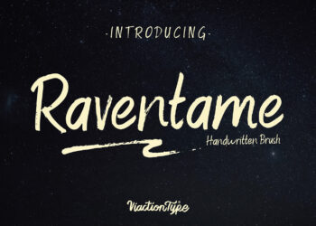 Raventame Free Font
