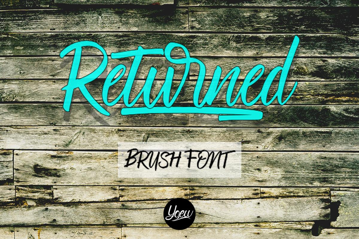 Returned Free Font