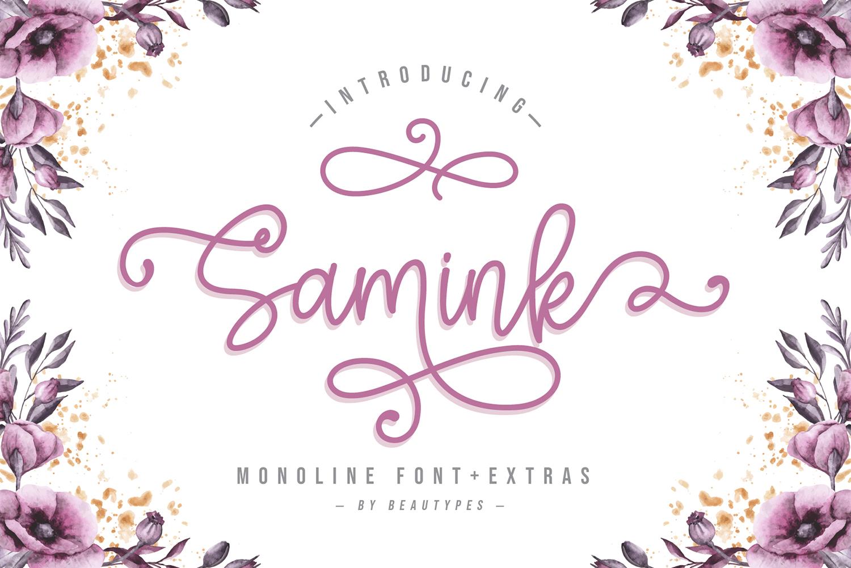Samink Free Font