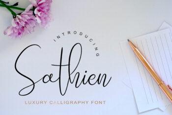 Sathien Free Font