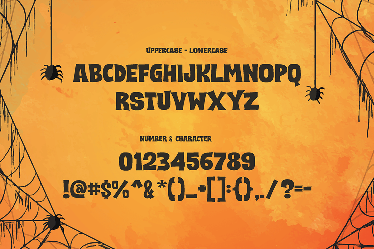 Scary and Spicy Free Font