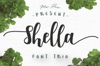 Shella Free Font