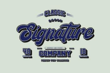 Signature Free Font