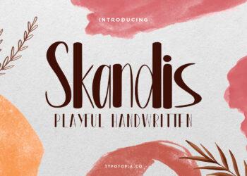 Skandis Free Font