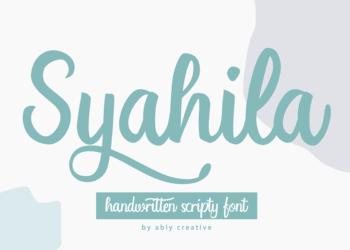 Syahila Free Font