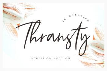 Thransty Free Font