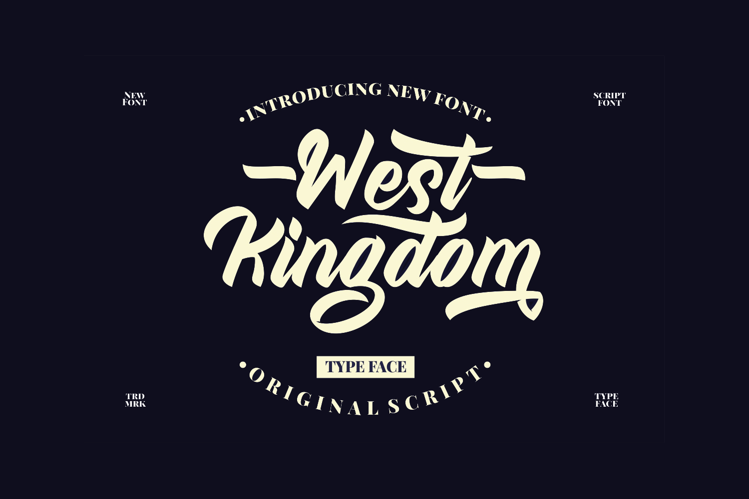 West Kingdom Free Font