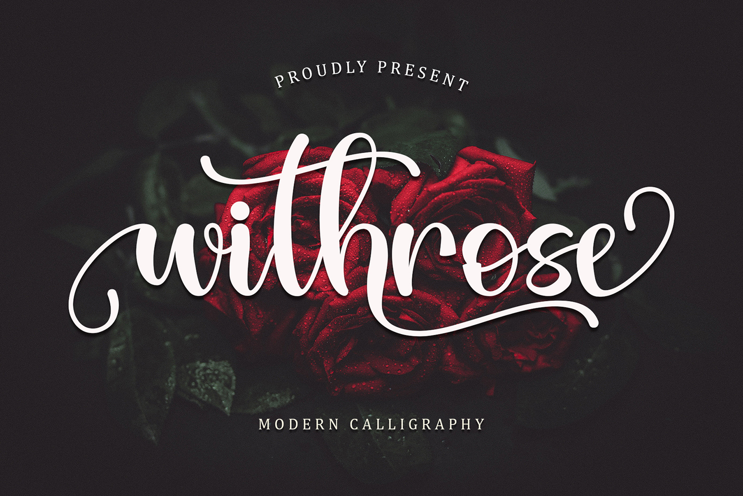 Withrose Free Font