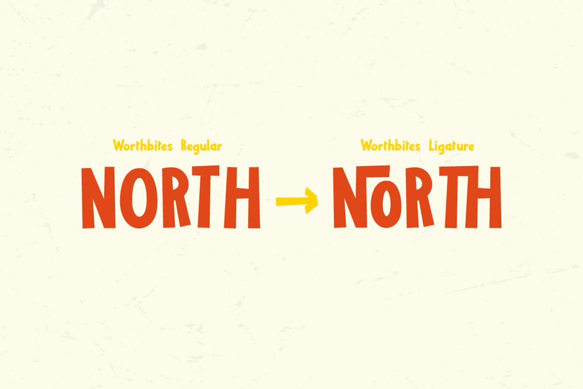 Worthbites Free Font