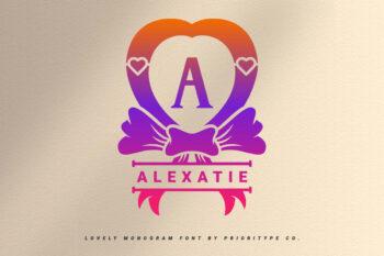 Alexatie Free Font