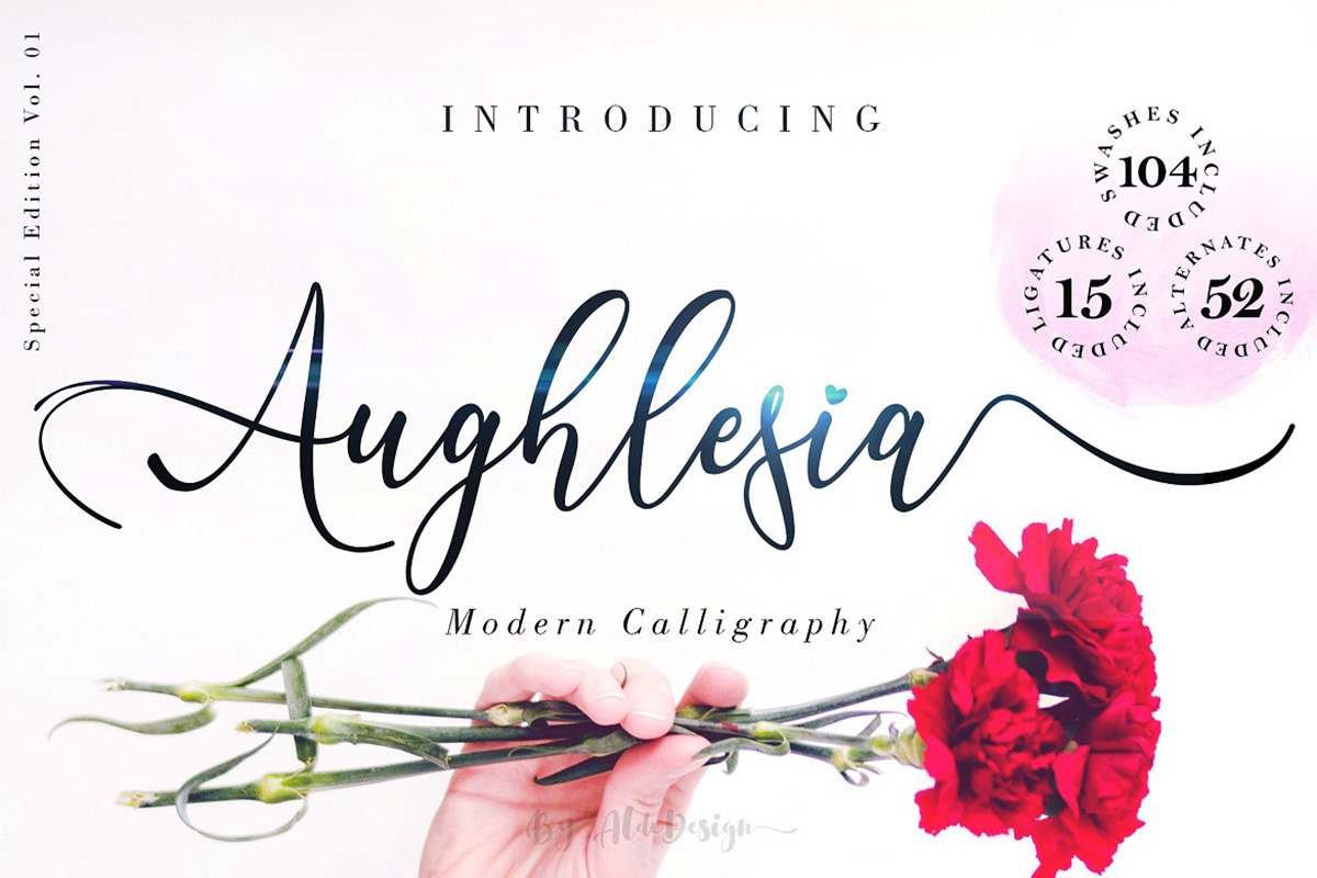 Aughlesia Free Font