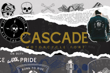 Cascade Motorcycle Free Font