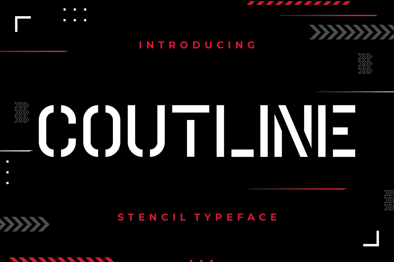 Coutline Free Font