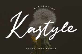 Kastyle Free Font