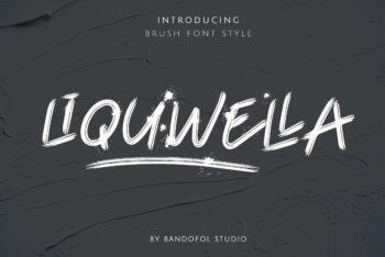 Liquwella Free Font