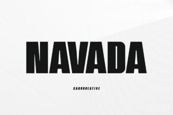 Navada Free Font