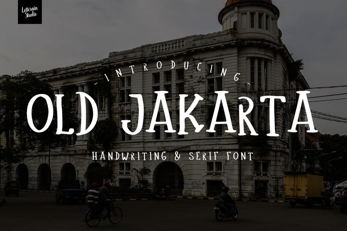 Old Jakarta Free Font