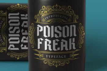 Poison Freak Free Font
