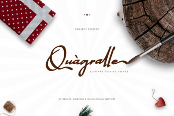 Quagralle Free Font