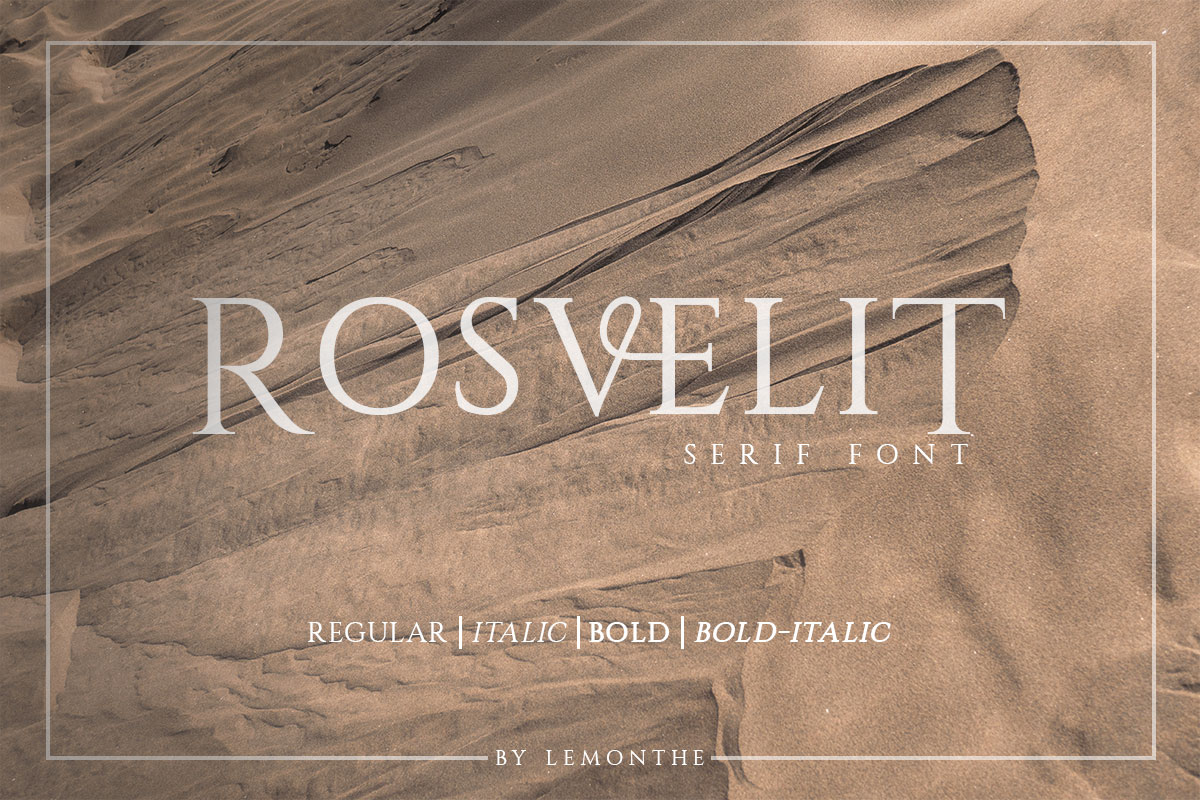 RosveliT Free Font