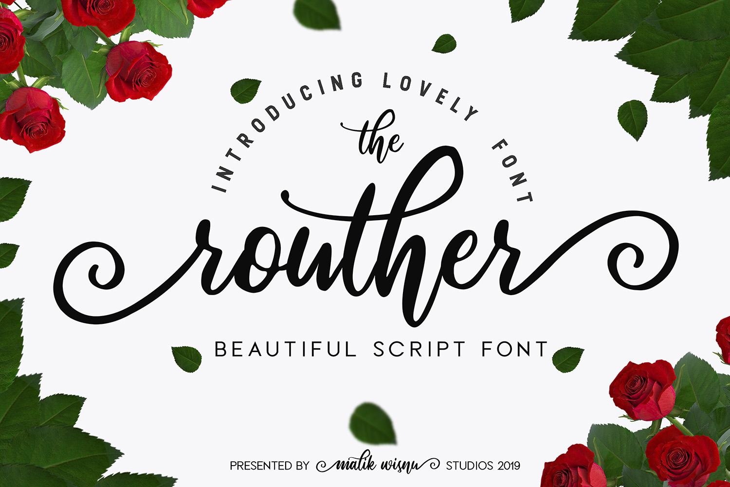 Routher Free Font