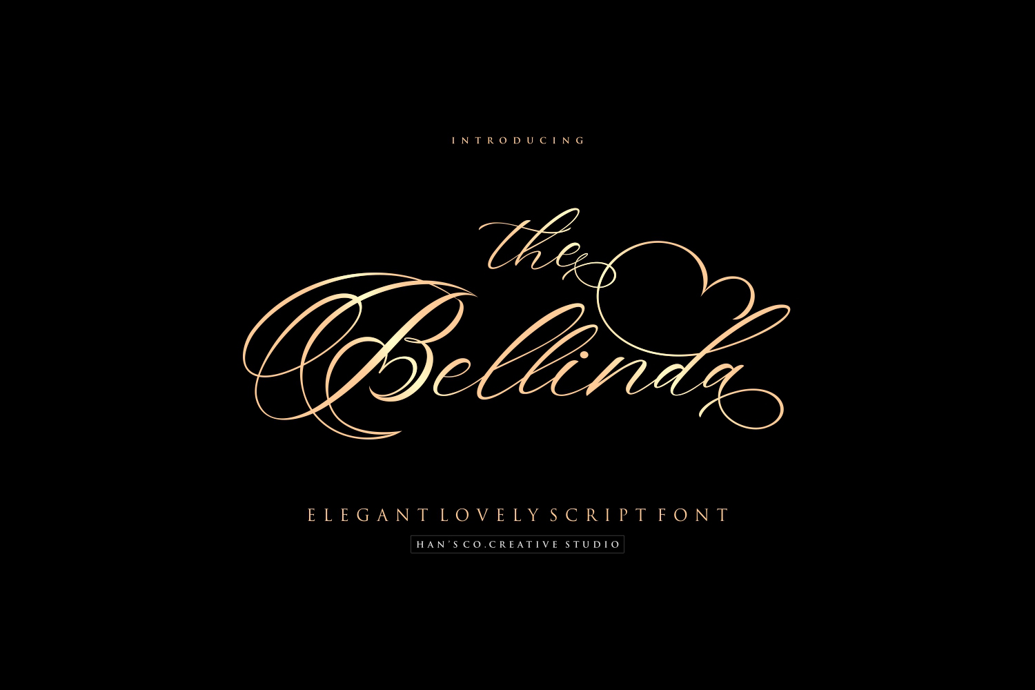 The Bellinda Free Font