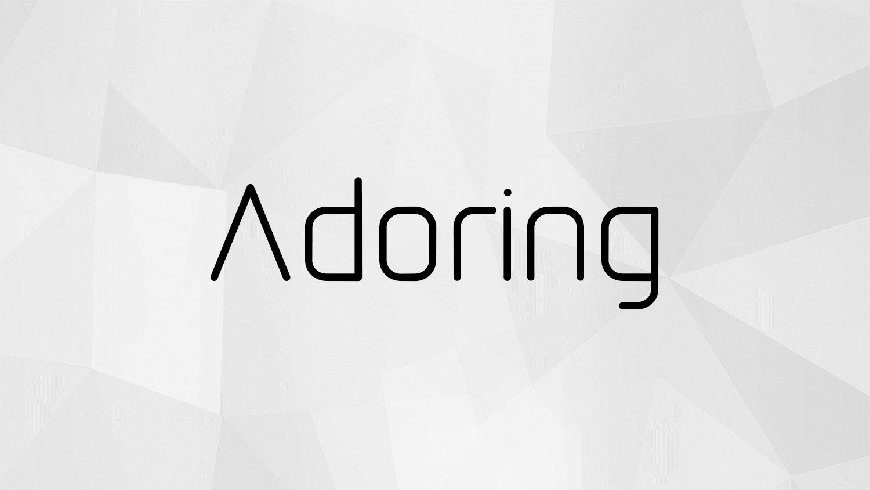 Adoring Free Font