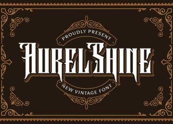 Aurel Shine Free Font