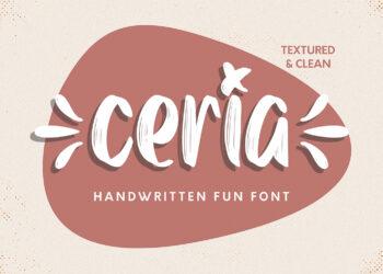Ceria Free Font
