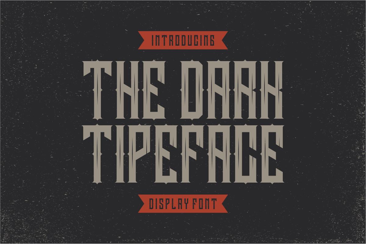 Darkrise Free Font