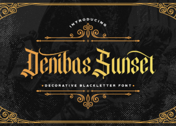 Denibas Sunset Free Font