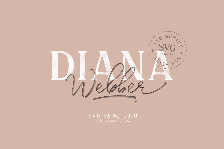 Diana Webber Free Font