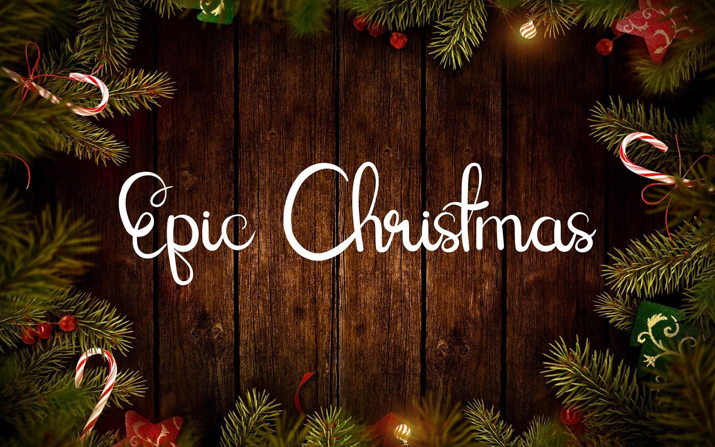 Epic Christmas Free Font