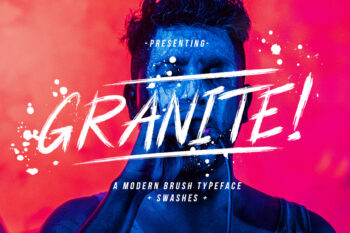 Granite Brush Free Font