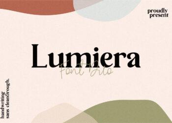 Lumiera Free Font
