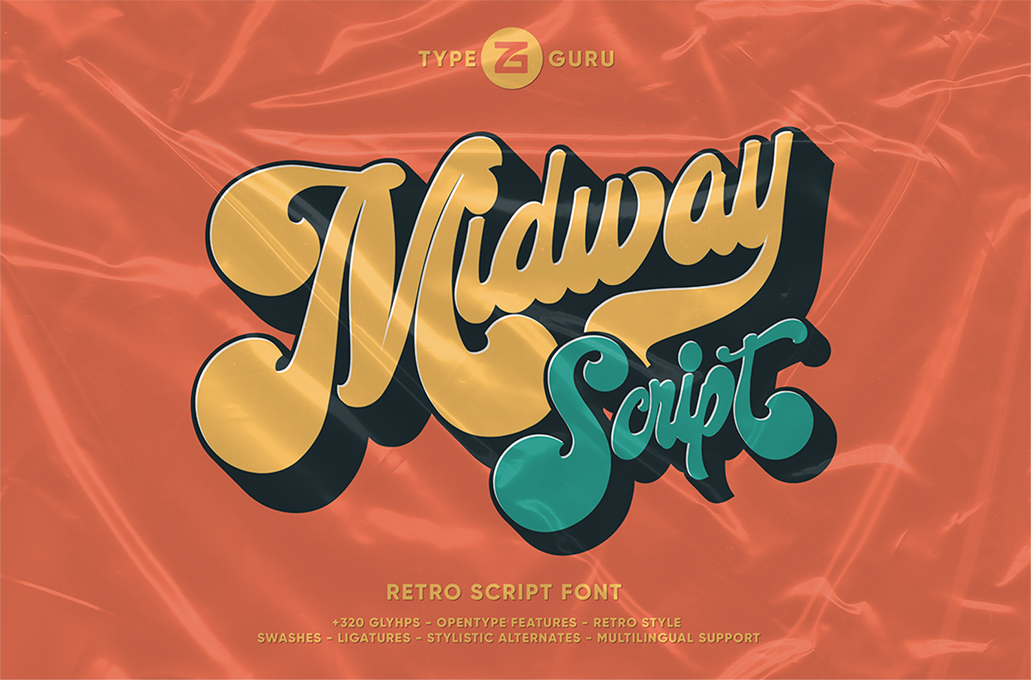 Midway Free Font