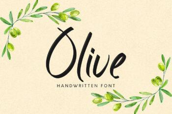 Olive Free Font