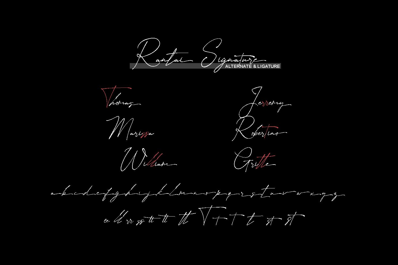 Rantai Signature Free Font